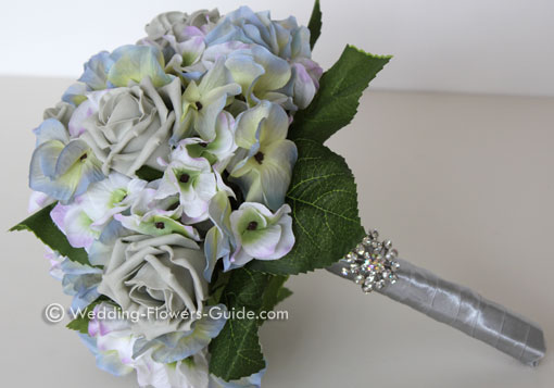 buy silk wedding flower arrangement