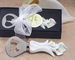 calla lily wedding favor bottle openers