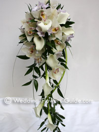 calla lilies as wedding flowers