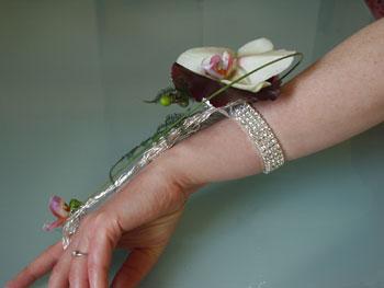 Diamante Wrist Corsage
