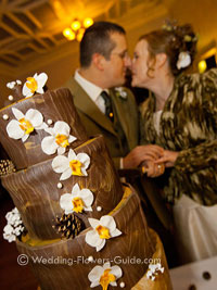 phalaenopsis orchid wedding cake decorations