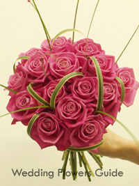 Pink Flower Picture on Posy Wedding Bouquets   Different Styles For You To Choose