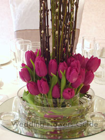 tulip table center