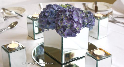 Blue Hydrangea Wedding Flowers - Stunning and Elegant