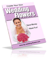 create your own wedding flowers book cover