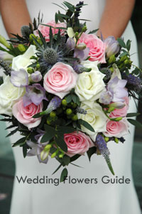 natural wedding posy bouquet
