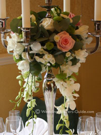 Real Weddings Sam S Rose Wedding Flowers